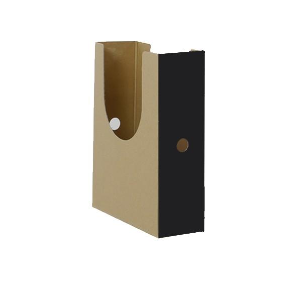 Stehsammler Karton schwarz